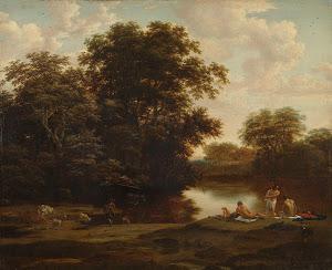RIJKS: Joris van der Haagen, Nicolaes Pietersz. Berchem: painting 1669