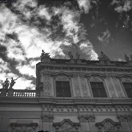 Imperial sky by Velibor Manić - Digital Art Places ( hofburg palace )