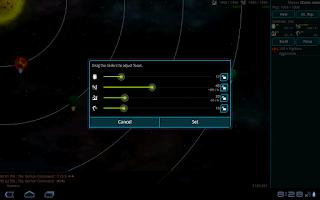 Screenshot of War Worlds