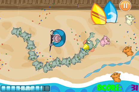 Zombie Conga Beach Party - screenshot