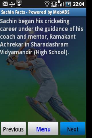 Sachin Tendulkar Trivia Facts