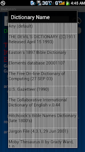 Mega Dictionary - screenshot