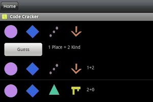 Screenshot of Code Cracker