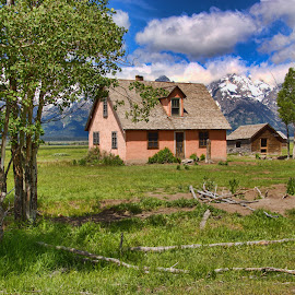 Mormon Row by Roxana McRoberts - Landscapes Travel