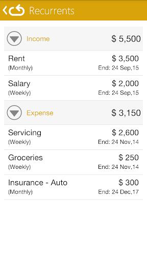 Personal Accounting - Pro - screenshot