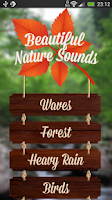 Screenshot of Beautiful Nature Sounds