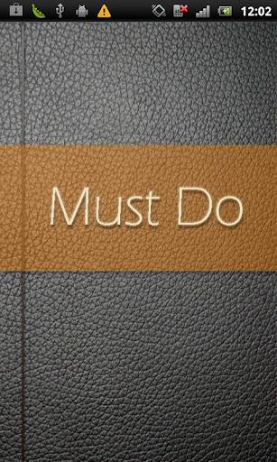 Must Do