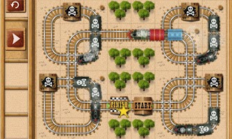 Screenshot of Rail Maze