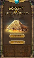Screenshot of Egypt Break Brick