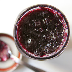 Blueberry Jam with Lemon and Thyme