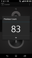 Screenshot of Click/Tally Counter