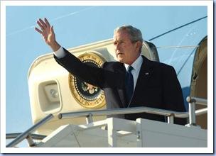President Bush @ GSP (Bart Boatwright - Gville News)