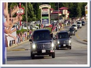 Motorcade Near Cherrydale (Alan Devorsey - Gville News)