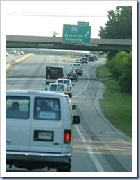 Motorcade Onto 385 (Bart Boatwright - Gville News)