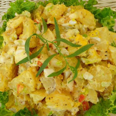 Yukon Gold Garden Potato Salad With Apples and Herbs