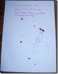 Signes brev till mormor