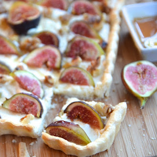 Fig & Walnut Tart