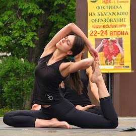 Bulgarian beauty by Name of Rose - Sports & Fitness Other Sports ( girl, woman, sport, bulgarian, yoga )