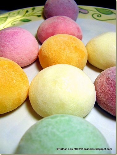 Bubbie's Mochi Ice Cream