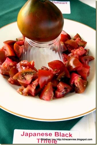 Japanese Trifele Black Tomato