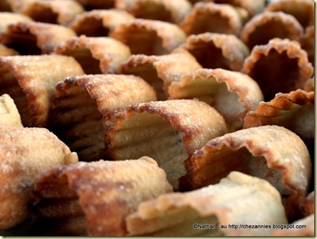 Fried Kuih Pie Tee Shells