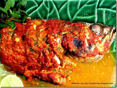 Ikan Pepes - Indonesian Spiced Fish in Banana Leaf