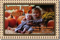english fall 2007