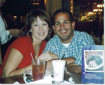 Leslie & Khalil - summer 2001