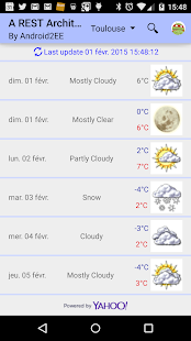 Forecast by Android2EE - screenshot