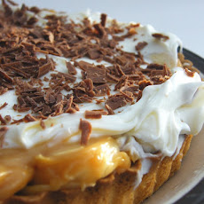 Lower Calorie Banoffee Pie