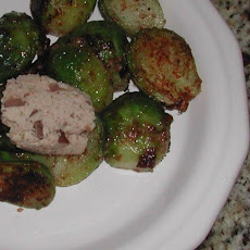 Brussels Sprouts With Chestnut Butter