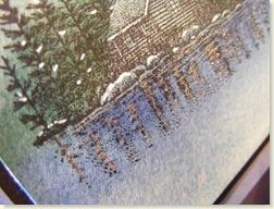 Stampscapes closeup