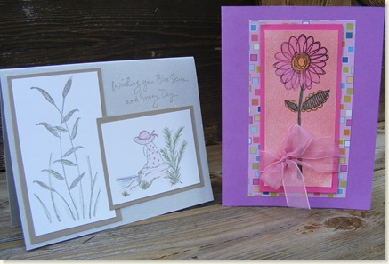 Ginger & Linda's cards