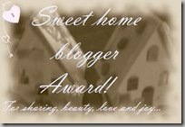 sweethome_blogger_award