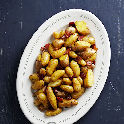 Fingerling Potatoes with Bacon