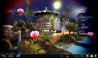 Screenshot of Oriental Garden 3D Pro