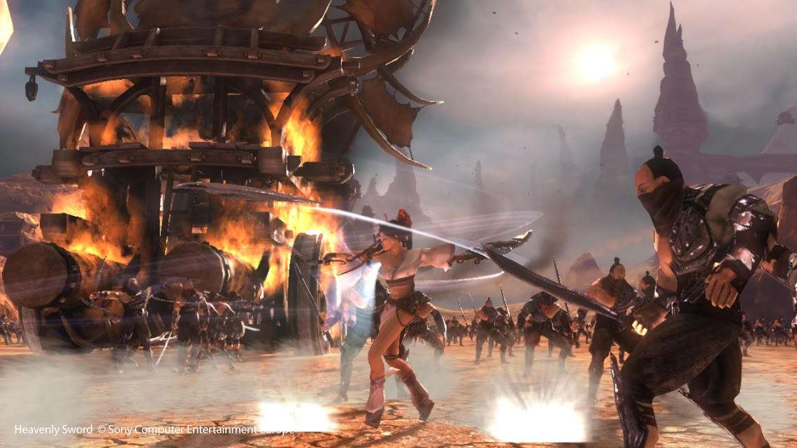 Team Ninja boss disses Heavenly Sword