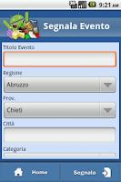 Screenshot of Sagre e Feste