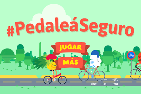 BA Pedaleá Seguro - screenshot