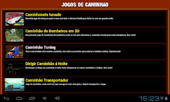 Screenshot of Jogos de caminhao