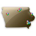 Iowa Fishing Maps - 3100 Maps icon