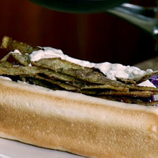Grilled Bratwurst with Braised Cabbage