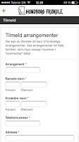 Screenshot of Hundborg Friskole