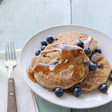 Buckwheat-Blueberry Pancakes