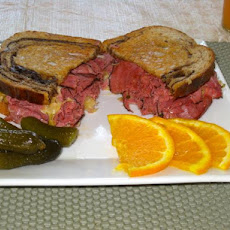 The Shawnee Marina Reuben Sandwich