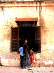 Architecture and people of Phnom Penh 178