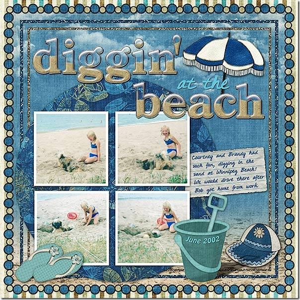 Diggin' at the Beach