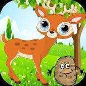 Download Cute Deer Run - deer Jump Free APK on PC
