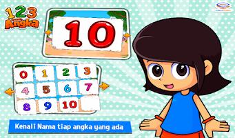 Screenshot of Marbel Belajar Angka