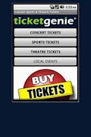 Screenshot of Buy Tickets